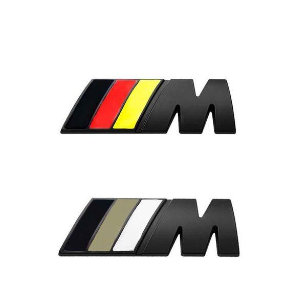 best selling DHL 4.5cm*1.5cm Car Sticker    M Power Emblem Badge Decals Stickers For BMW e36 e39 e46 e60 e87 e92 e30 f10 f20