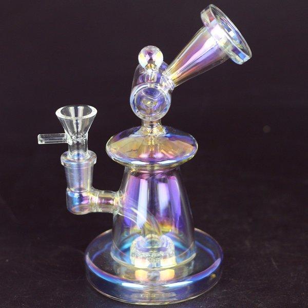 Красочные с Glass Bowl