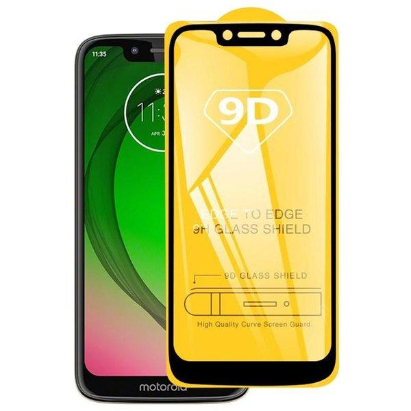 Pour Motorola Moto G7 Jouer 9D pleine colle F