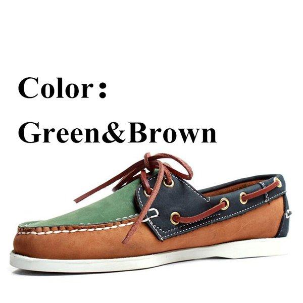 Grün-braun