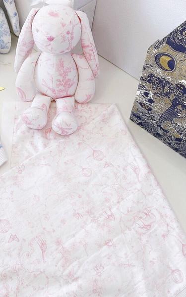 pembe tavşan ve battaniye
