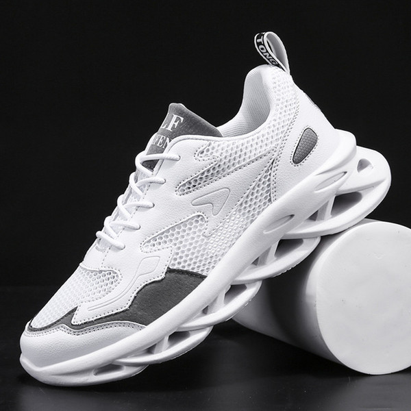 New Men Sneakers Air Mesh Light Breathable Comfortable Running Shoes Men Non-slip Hard-Wearing Unisex Lovers Couple sports shoes