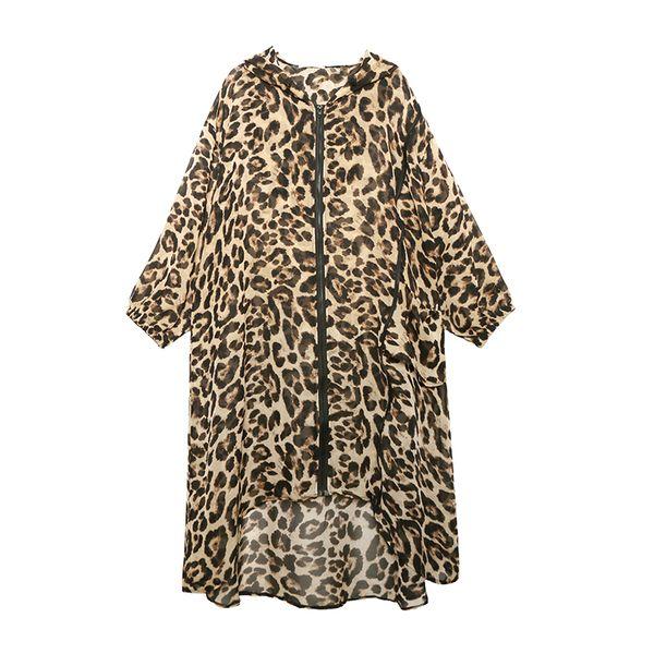 Leoparden gedruckt