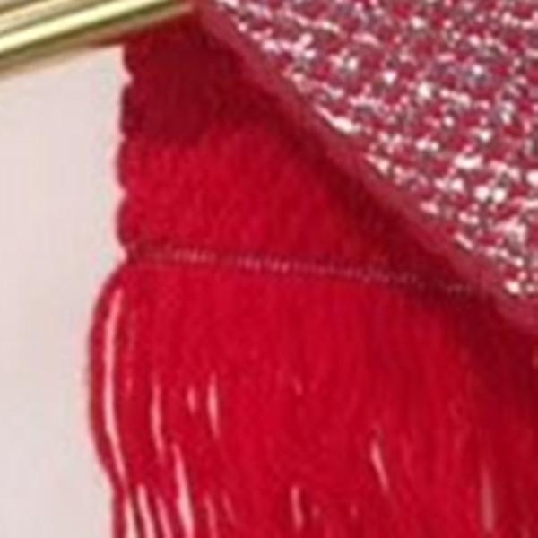 Rojo con plata