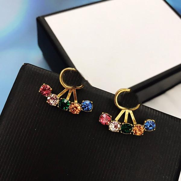 best selling Best Selling Trend Earrings for Woman Top Product Short Earrings High Quality Brass Earrings Fashion Jewelry Supply