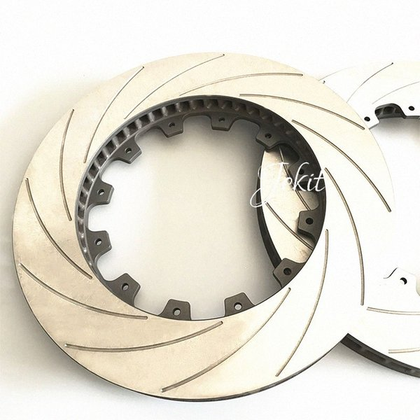 top popular Jekit Brake Disc 362*32mm curved pattern for Civic EP3 Type 2004 uCmH# 2021