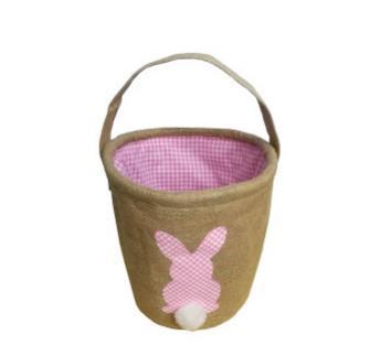 #1 Burlap Easter Baskets