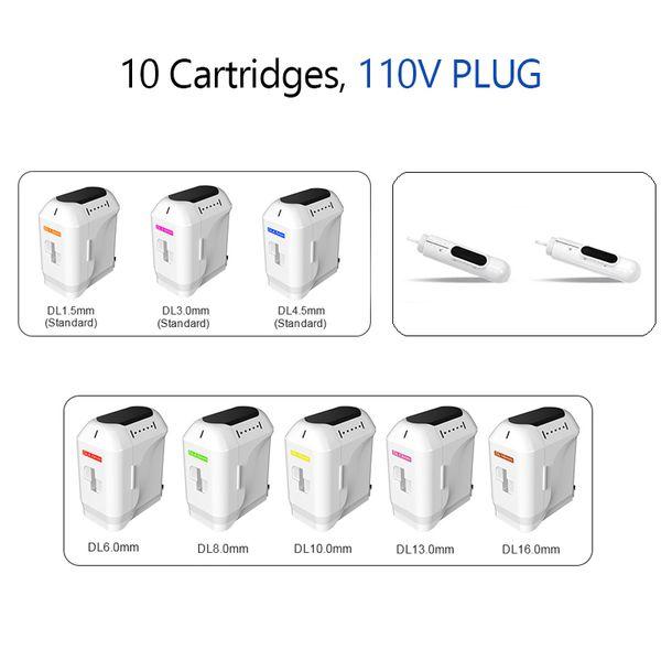 10 Cartouches 110V