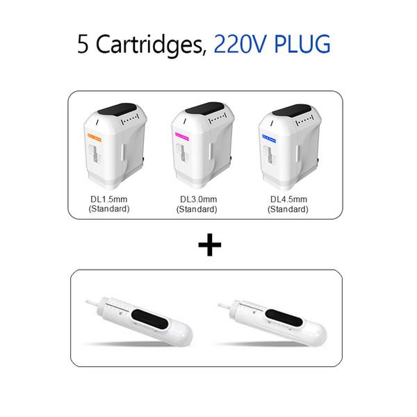 5 cartouches 220V