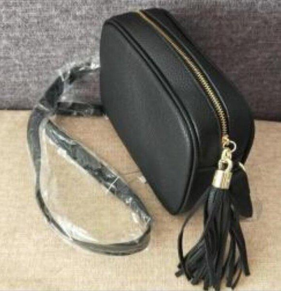 best selling Designer Shoulder Bag Tassel SOHO Bags Genuine leather bag with zipper Ladies Tassel Litchi Profile lady Messenger Bag