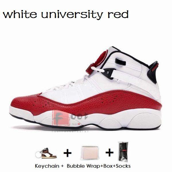 6S- beyaz üniversite kırmızı