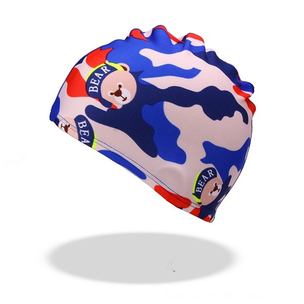 camouflage bear cloth hat