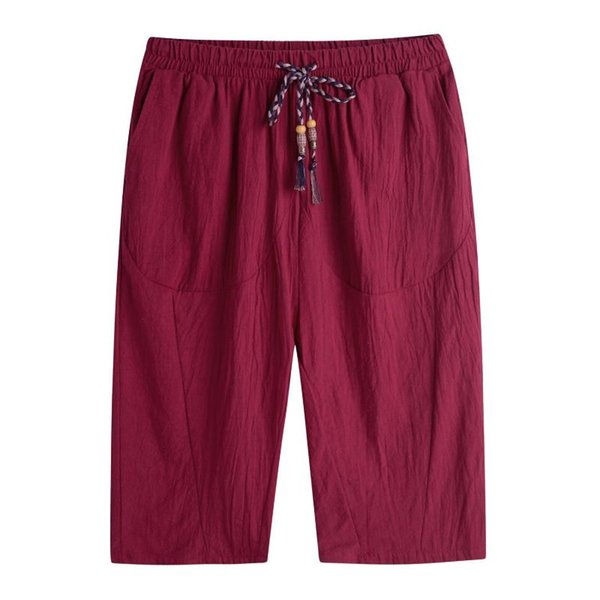 Vino rosso pantaloni da uomo