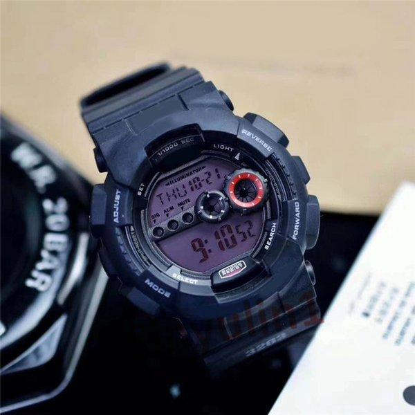3 black purple watch