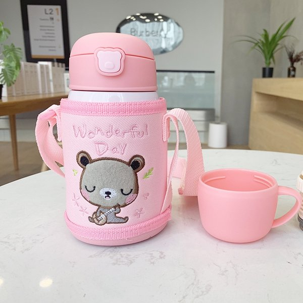 Pink Cartoon Cup Cover 724-1-Different S