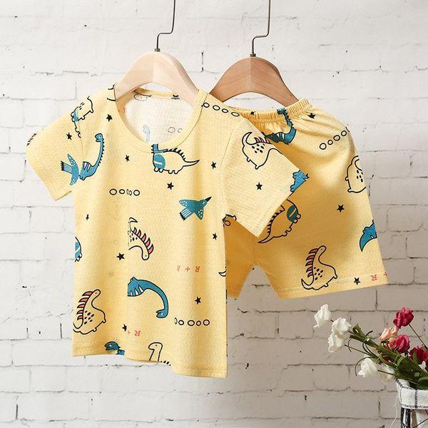 Gelbe Dinosaurier