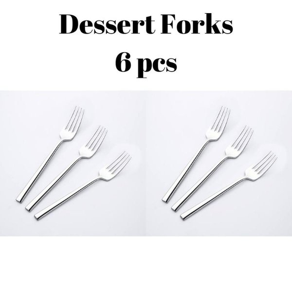 1 postres Forks 6 PC