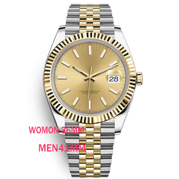 best selling caijiamin-U1 quality 36mm Mens Watches Automatic Movement Stainless Steel Watches women 2813 Mechanical Wristwatches waterproof Luminous