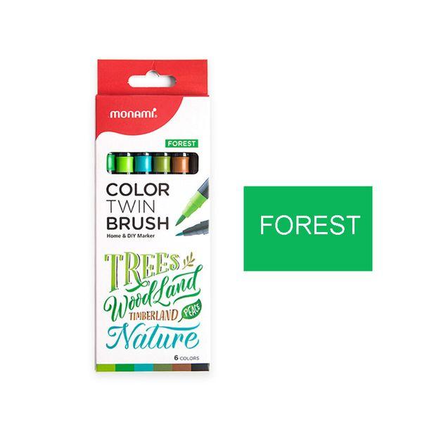 6 colori della foresta