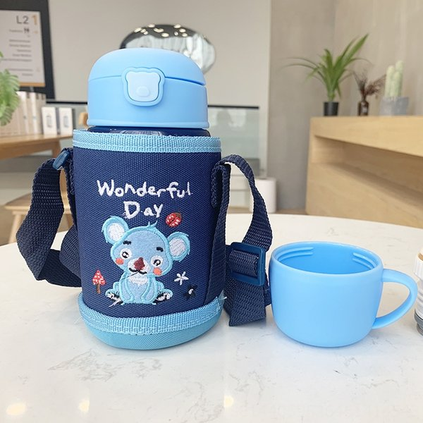 Sapphire Blue Cartoon Cup Cover 724-1-Di