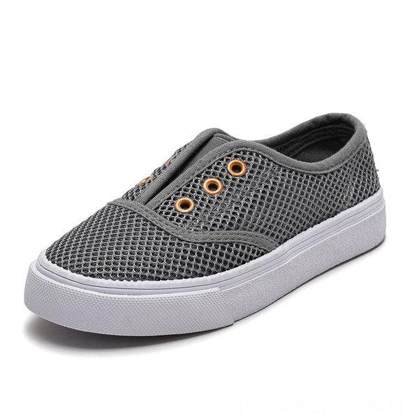 7077 niños # 039; s zapatos de malla Gris