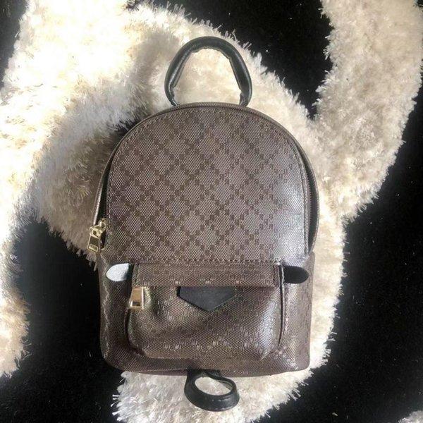 best selling Mini Backpack for women leather fashion back pack shoulder bag handbag presbyopic palm spring mini backpack messenger bag phone purse