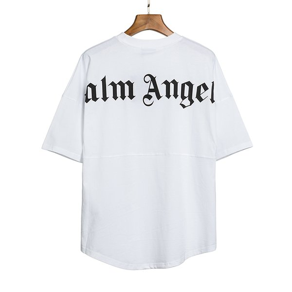 best selling 2020ANGELS Beauty tide PALM printing ANGELS PA loose casual sports round neck short sleeve T-shirt men and women 080406-05