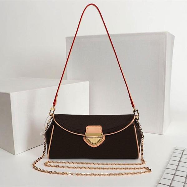 top popular Designer Shoulder Bag Genuine leather handbag with zipper printed small round bag Accessories Flower Pouch retro lady shoulder bags 2020