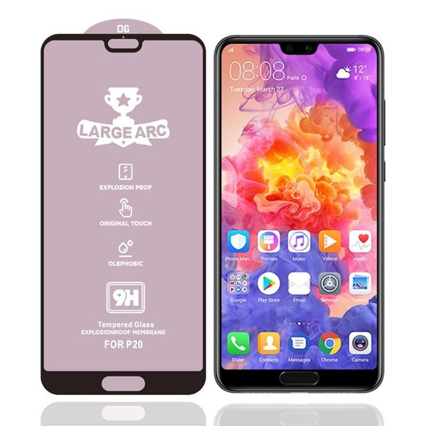 Para Huawei P20 9H HD alto contenido de alúmina completa S