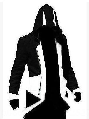 Noir et blanc Assassin # 039; s Creed