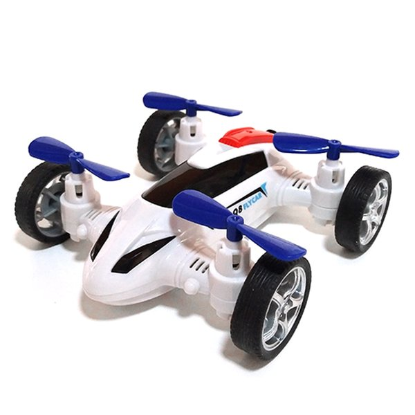 best selling Model Set Fly Car Inertia Four-Axis Friction Powered red blue white black Cars Children Toy Vehicle 4-Axis Aircraft For Kids Boys Gifts
