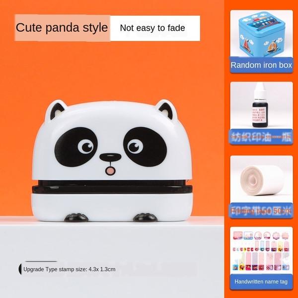 netter Panda (4.3x 1.3cm) Geschenktasche A