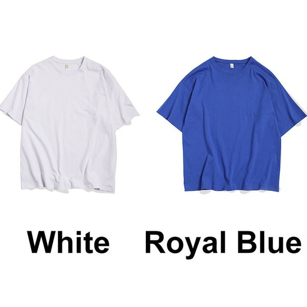 Blanc Bleu royal