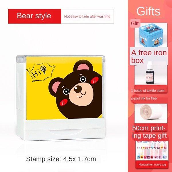 Bär (4.5x 1.7cm) Geschenktasche A