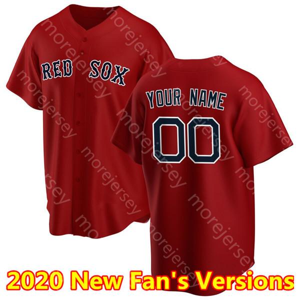 2020 Fan # 039; les versions rouge