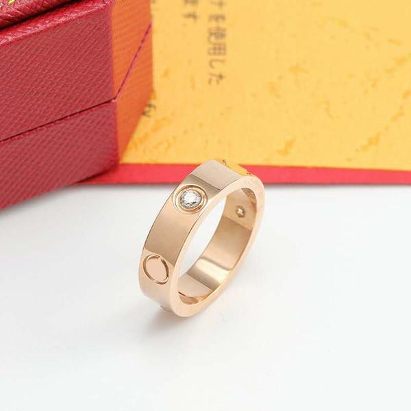 Ouro rosa com diamantes