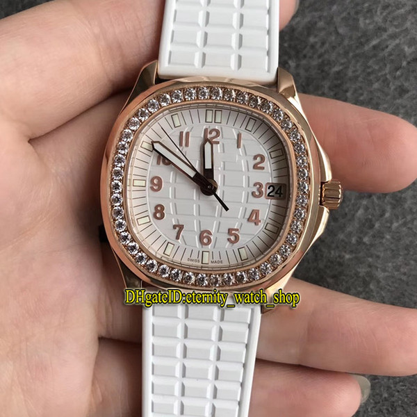 PP-Q38 (6) Rose gold case and white dial