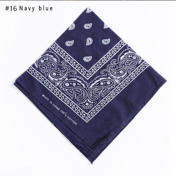 16 Bleu marine