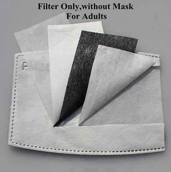 Los filtros solo, sin máscara