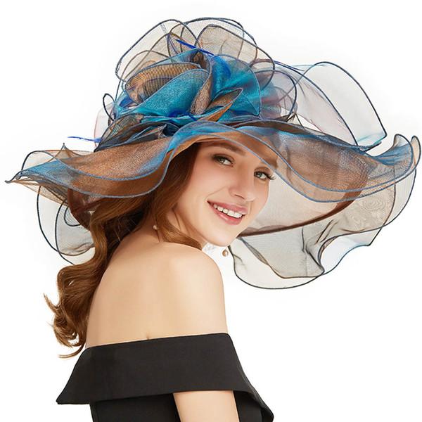 Kahverengi Güneş Şapka