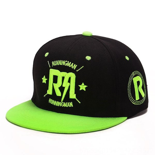 Fluorescent green with black