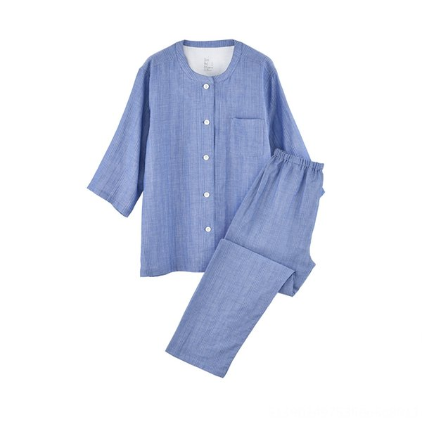 Blue Female (cropped Sleeve + Trousers)