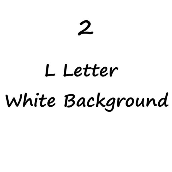 L letra Background-2