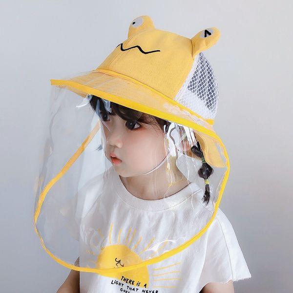 Grenouille jaune net + Masque jaune