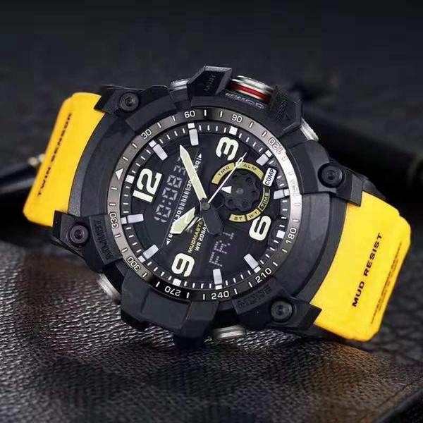 7 노란색 충격 시계