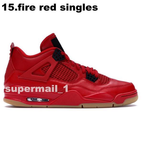 15.fire rojo sencillos