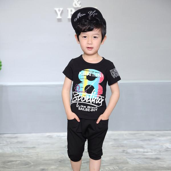 shirt shorts 2pcs B