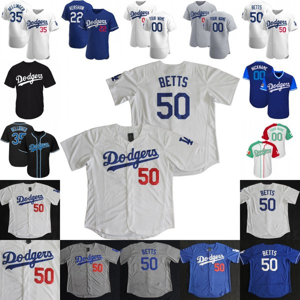 top popular 2020 Mookie Betts Jersey Cody Bellinger Corey Seager Justin Turner Enrique Hernandez Clayton Kershaw Walker Buehler Joe Kelly Max Muncy 2020