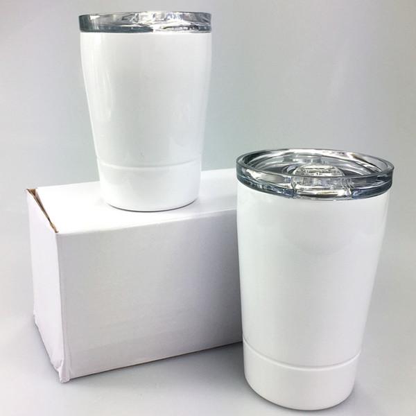 top popular DIY sublimation 8oz tumblers stainless steel tumbler kids Cups Travel kids water bottle Vehicle Beer Mug Coffee Mugs with lids 2021