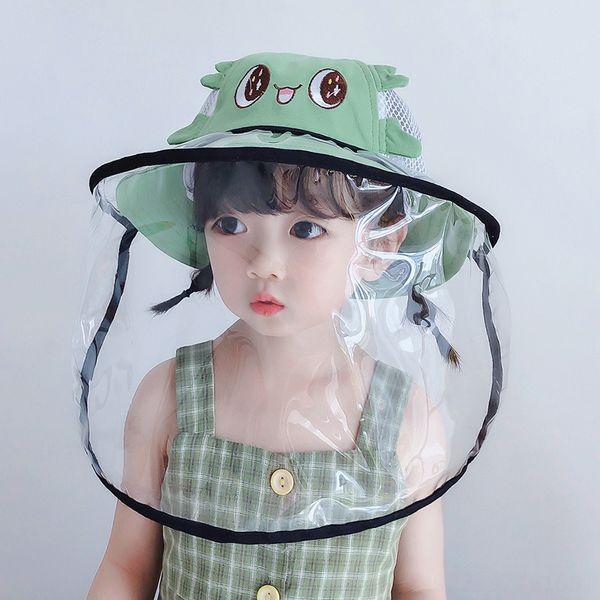 Big Eyes Green Net + masque noir